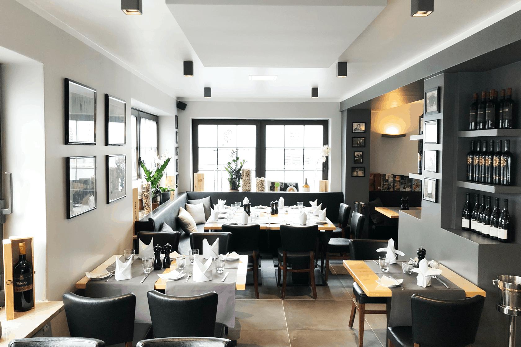 Absorber / vertikal / Deckenspiegel / Büro / Restaurant / Kantine