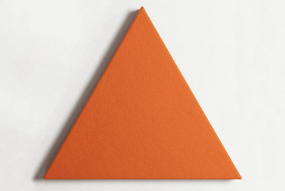 Dreieckig / Schall / Ruhe / Formen / Akustikpaneel