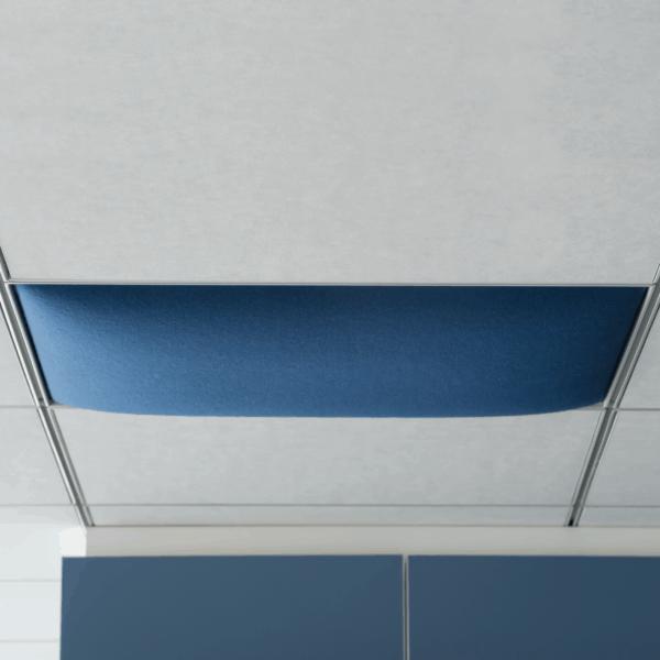 Akustikdecke / Deckenabsorber / Rasterdecke / einfache Montage