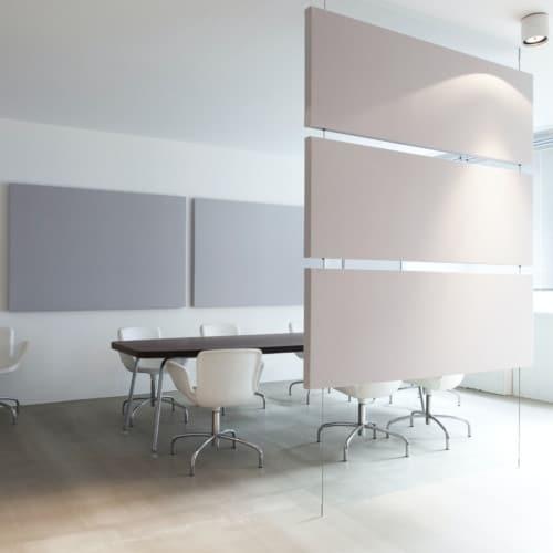 Akustikschirm / Raumtrenner / optische Trennung / Schall / Ruhe