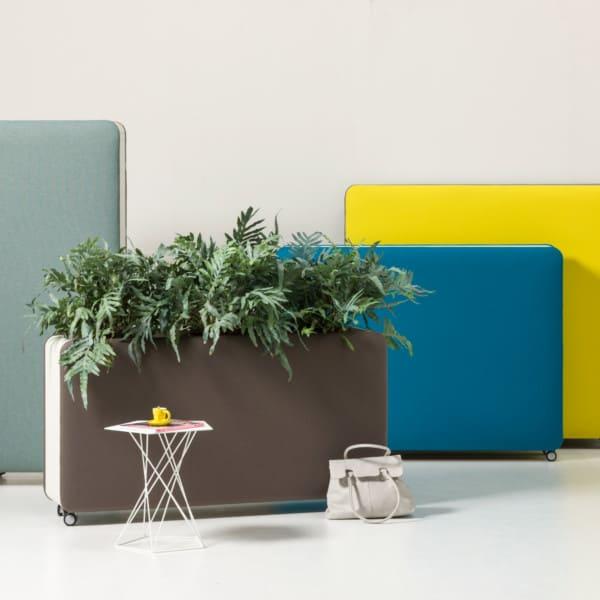 Pflanzen / Raumteiler / Akustik / modern / praktisch