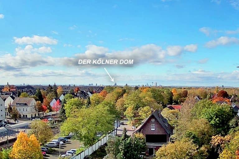 Livecam mit Blick zum Kölner Dom